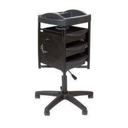 Тележка парикмахерская М-06 Черный K