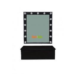 Зеркало для визажиста настенное + полка-ящик K