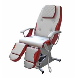 Педикюрное косметологическое кресло «Надин» (электропривод, 4 мотора) (Премиум 182/183)