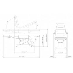 Кресло косметологическое LEMI 3   K
