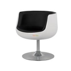 Кресло Детройт (черный/белый) K