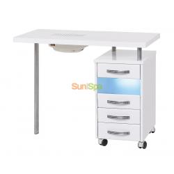 Маникюрный стол МЦ-029 с УФО и пылесосом K