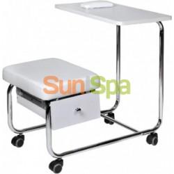 Маникюрный столик совмещенный со стулом без вытяжки K