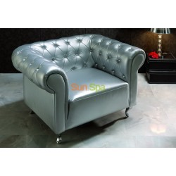 Кресло Dupen B-7 silver K