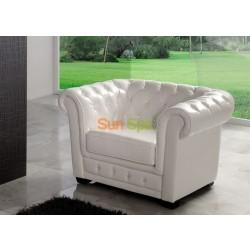 Кресло Dupen SF-24-1S White K