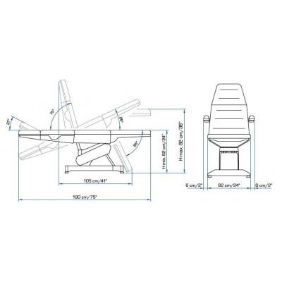 Косметологическое кресло LEMI 4   K