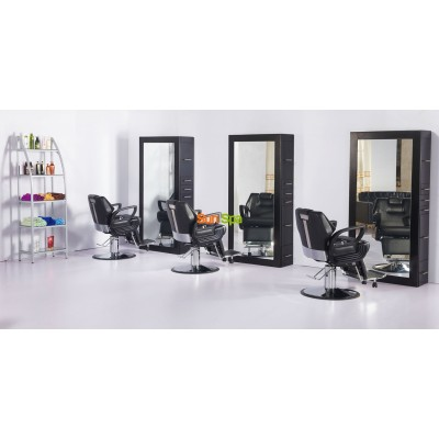 Кресло парикмахерское A100 Коричневое K