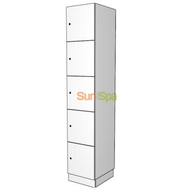 Индивидуальный шкаф для персонала  K