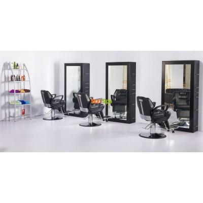 Кресло парикмахерское A100 Черное K