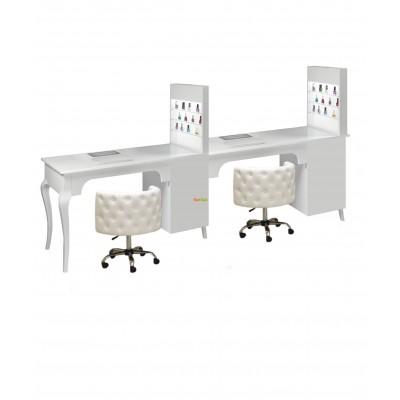 Двойной маникюрный стол 505 K
