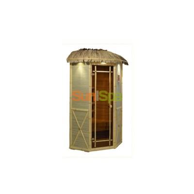 Инфракрасная сауна Соло угловая мини (Робинзон) K