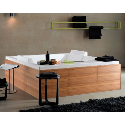 Гидромассажная ванна Albatros Сube double tub K