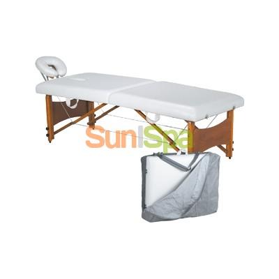 Массажный стол раскладной с регулируемой высотой (чемодан в чехле) K