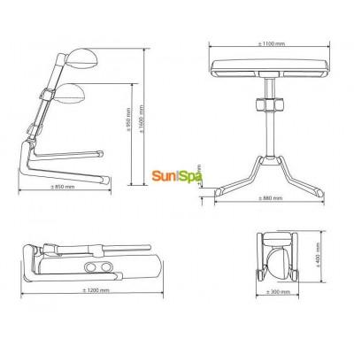 Домашний солярий Hapro Innergize HP8580 K