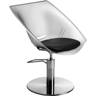 Кресло парикмахерское GINEVRA CONFORT TRANSPARENTE  K